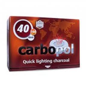 CarboPol Instant Coal -40 mm- Box of 100 pc